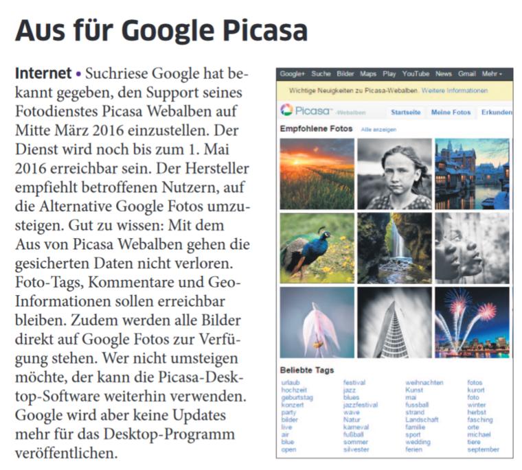 Aus-für-Google-Picasa